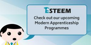 Upcoming Modern Apprenticeship programmes