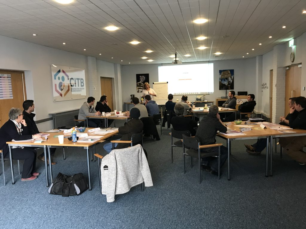 A successful start for our 5th NVQ 4 programme in Northern Ireland