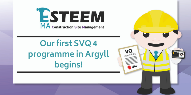 SVQ Level 4 in Argyll